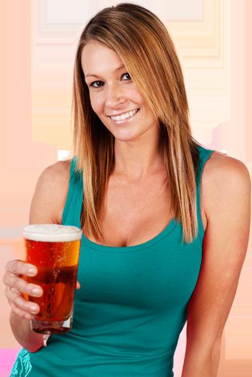beer girl