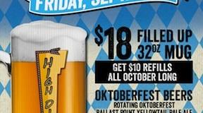 High Dive Oktoberfest